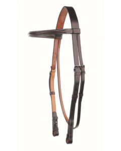 Headstall with Raised Browband - Traditional Range