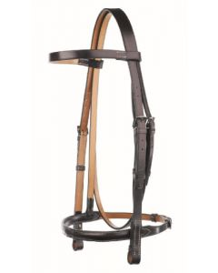 Headstall with Show Noseband - Traditional Range