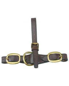 Heavyweight Leather T Coupling - Falcon Range